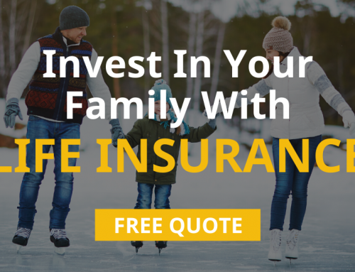 Invest In Your Family With Life Insurance! ?‍?‍?‍?